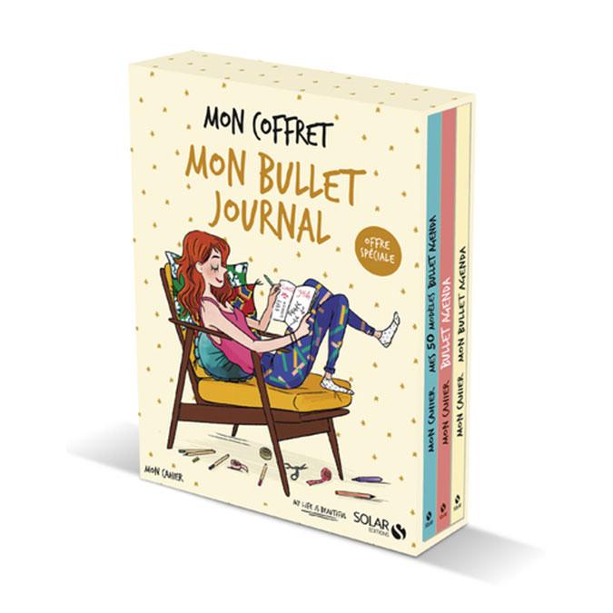 Livre Mon coffret mon bullet agenda 3 volumes