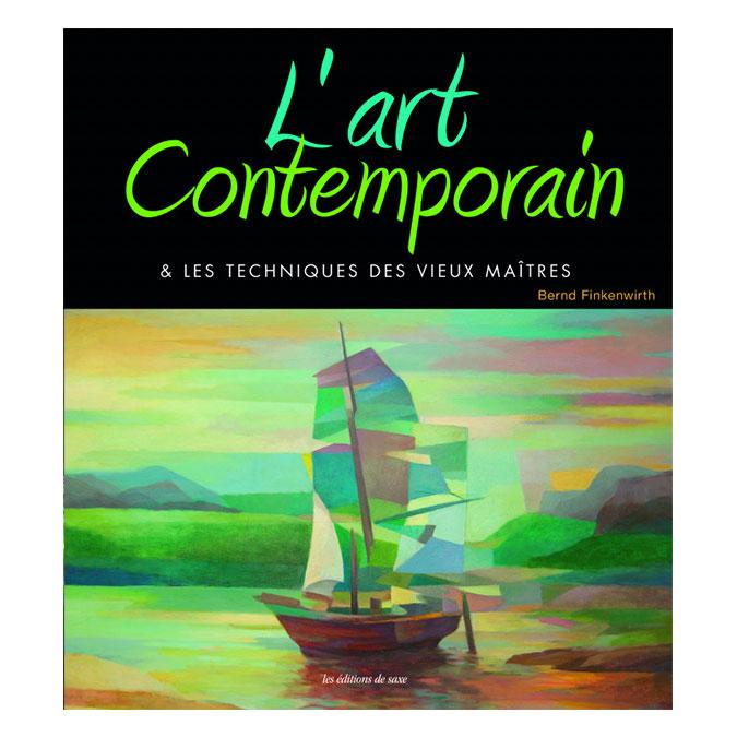 Livre L'art contemporain à l'acrylique