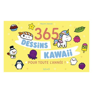 Livre 365 Dessins Kawaii Pour Toute L Annee Fleurus Chez Rougier Ple
