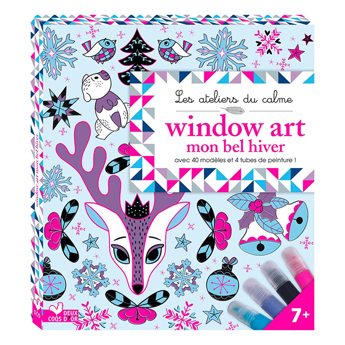 Livre Window Art mon bel hiver