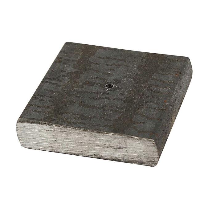 Pied en métal 4 x 4 x 1 cm