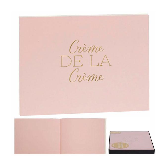 Livre d'or Rose 22,5 x 17,5 cm