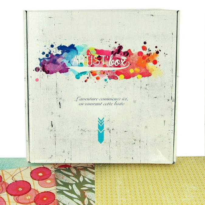 Papier Scrapbooking motifs Artist'Box 30.5 x 30.5 cm 100 feuilles