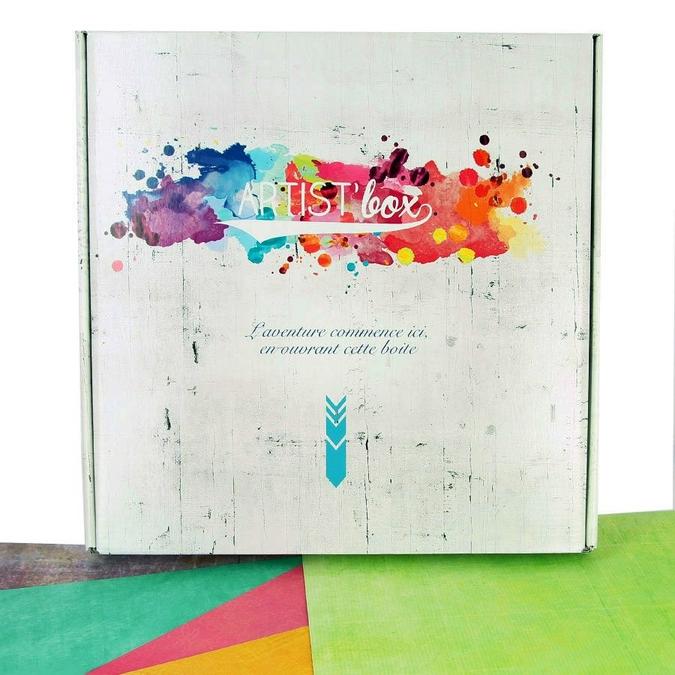 Papier Scrapbooking uni Artist'Box 30.5 x 30.5 cm 100 feuilles