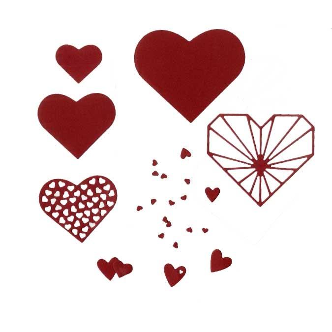 Matrice de découpe DIE Cœurs