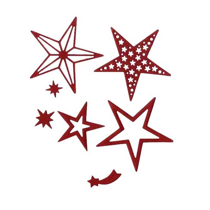 Matrice de découpe DIE Étoiles