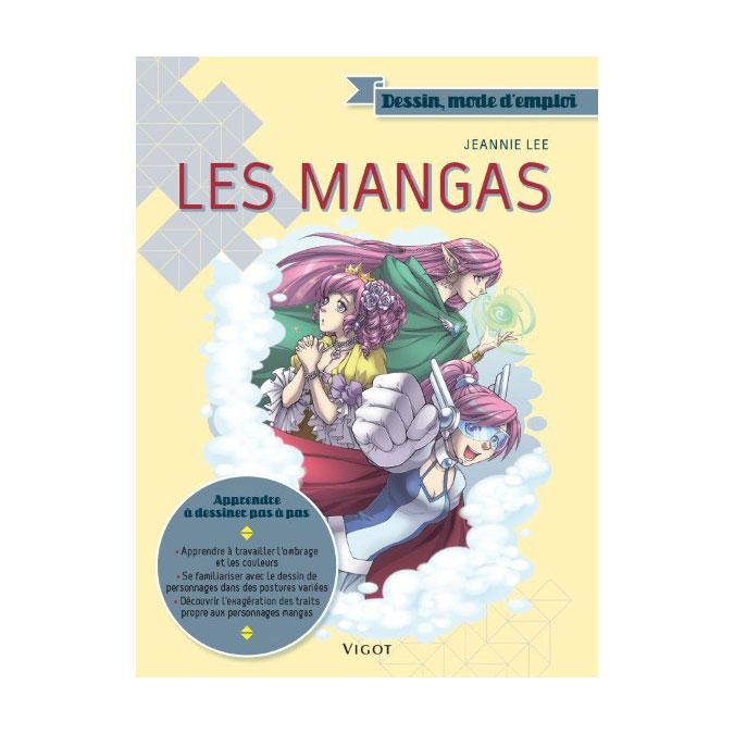 Livre Dessin mode d'emploi Les mangas