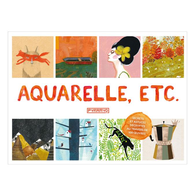 Livre Aquarelle, etc.