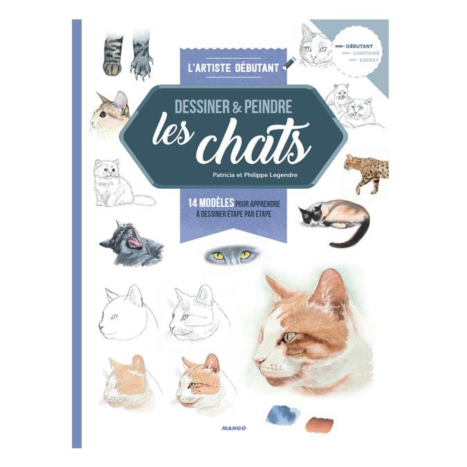 Livre Dessiner et peindre les chats