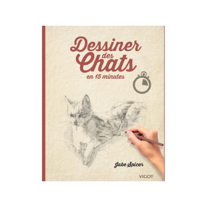 Livre Dessiner des chats en 15 minutes