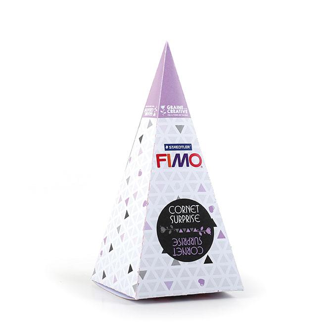 Cornet surprise FIMO n°1 Nuage