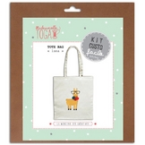 Kit Custo facile Tote bag Lama