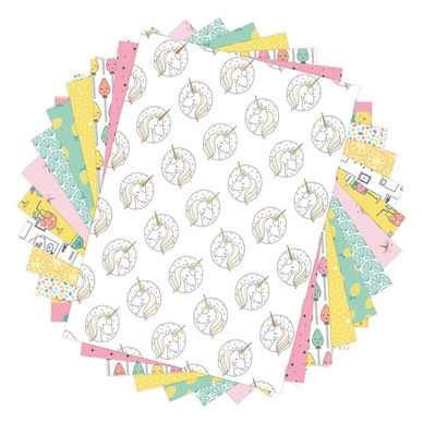 Bloc de papier imprimé Color Factory A4 Happy Days 48 feuilles