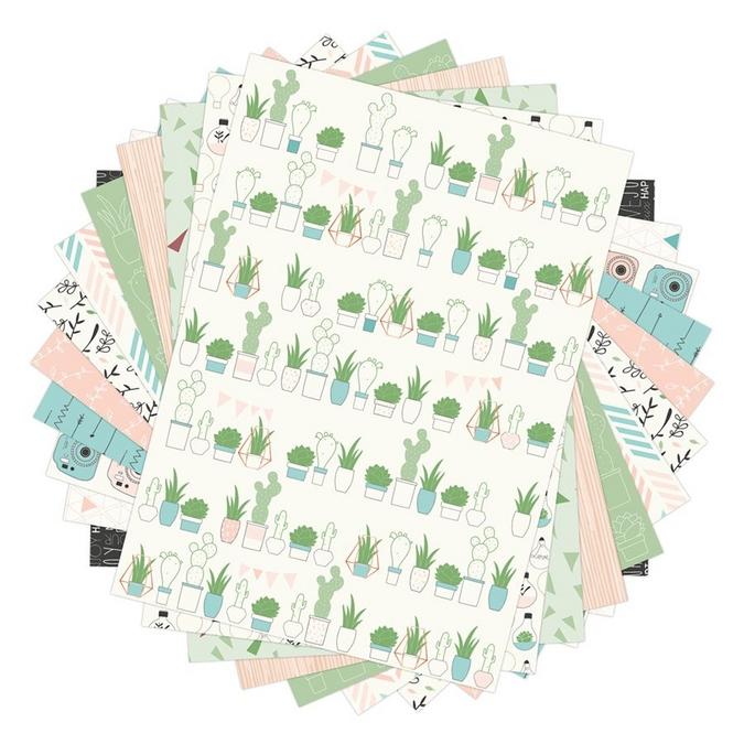 Bloc de papier imprimé Color Factory A4 Enjoy the little things 48 feuilles