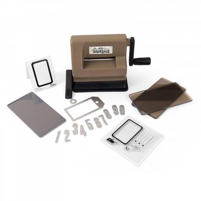 Machine de découpe Sidekick Kit de démarrage Tim Holtz
