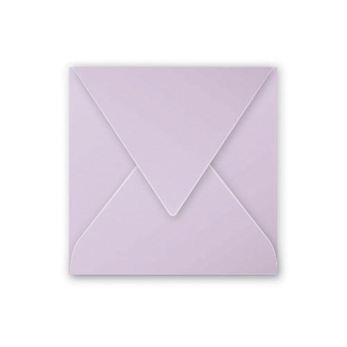Enveloppe faire part Pollen 120g 120 x 120 mm par 20 Blanc Irisé