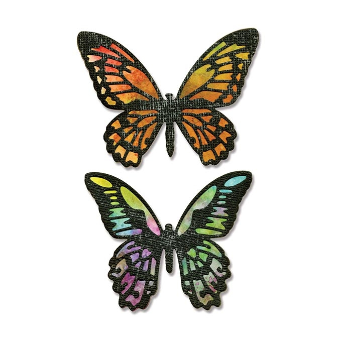 Matrice de découpe Thinlits Die Papillons 4 pcs