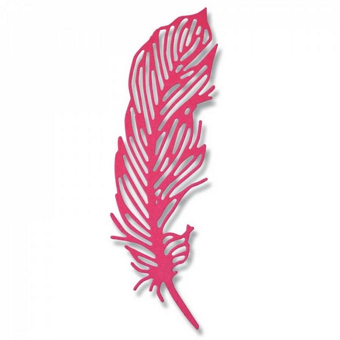 Matrice de découpe Thinlits Die Plume délicate