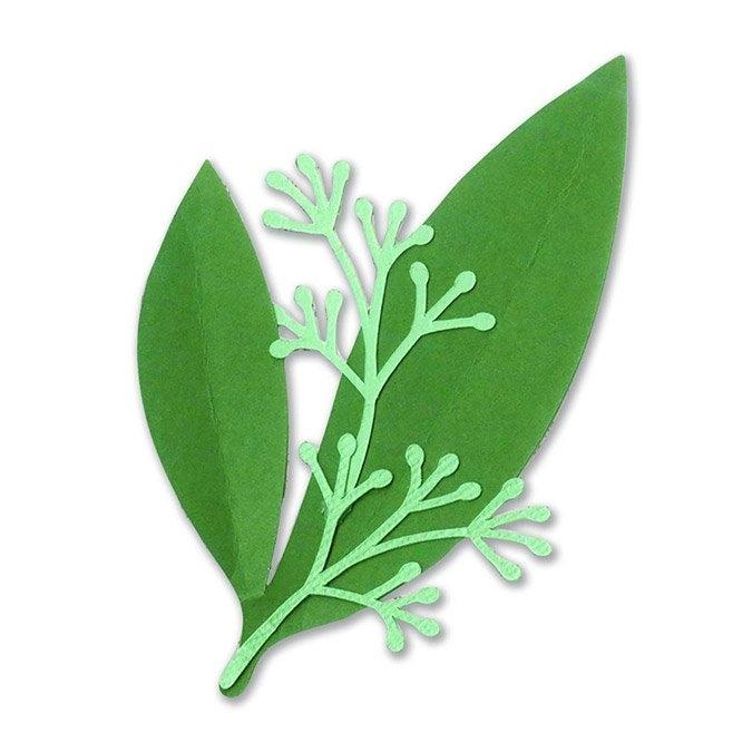 Matrice de découpe DIE Framelits Eucalyptus 2 pcs