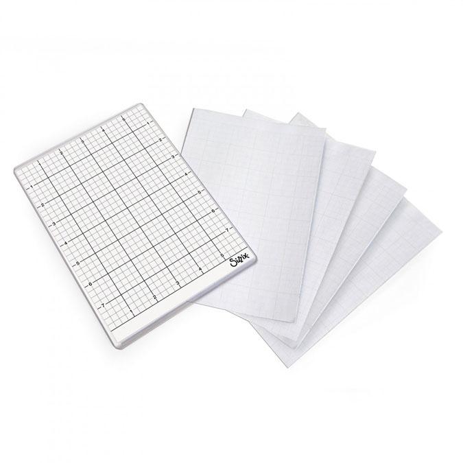 Feuille adhésive réutilisable pour machine de découpe 5 pcs
