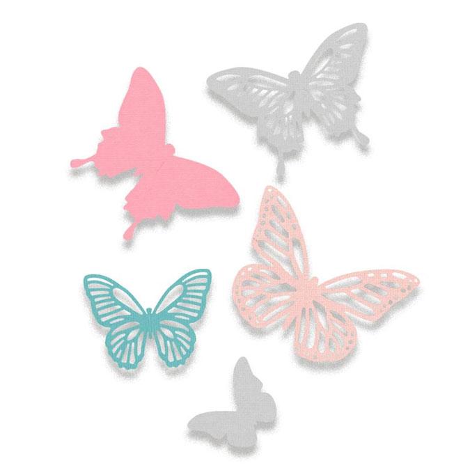 Matrice de découpe Die Thinlits Papillons 5 pcs
