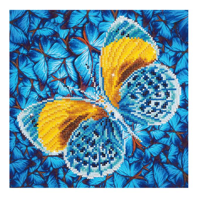 Broderie Diamant kit intermédiaire Papillon Or