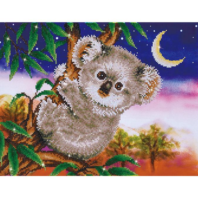 Broderie Diamant kit intermédiaire Bébé Koala