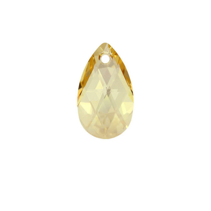 Pendentif poire 6106 - 28 mm - Crystal Golden Shadow