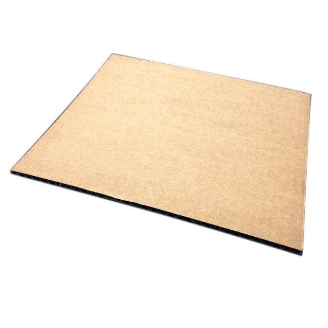 Carton simple cannelure Kraft 3 mm 50 x 65 cm