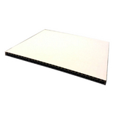 Carton double cannelure Blanc 6,5 mm 50 x 65 cm