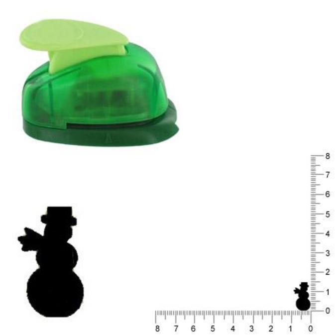 Perforatrice Bonhomme de neige 1.5 cm