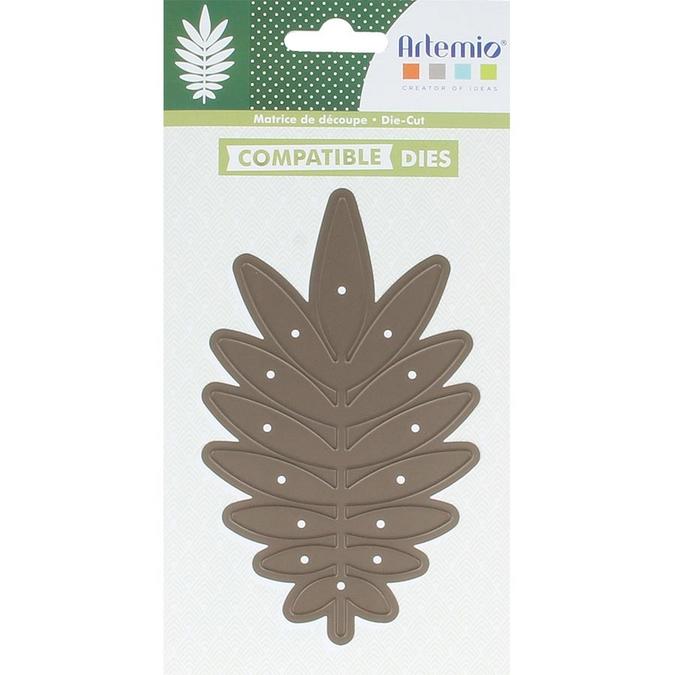 Matrice de découpe DIE Feuille de palmier 8 x 13,5 cm