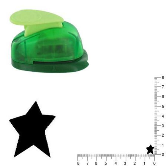 Perforatrice Étoile folk 1 cm