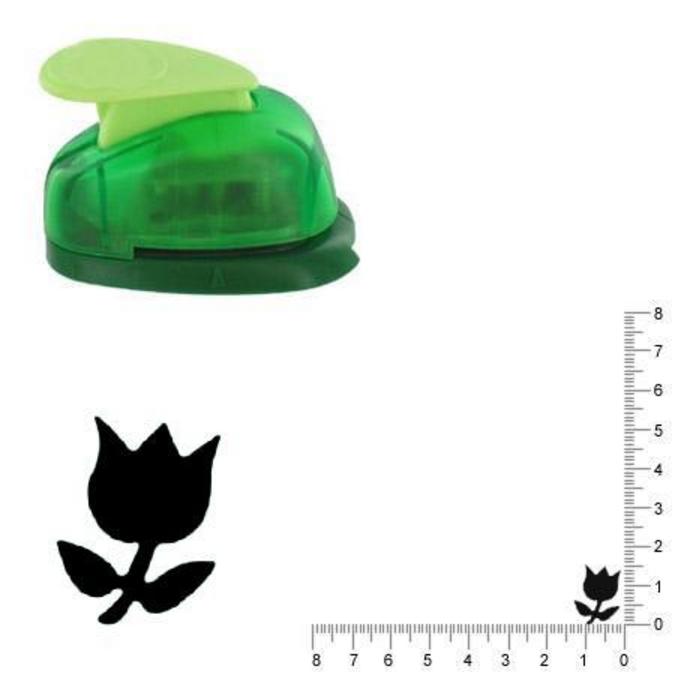 Perforatrice Tulipe n°2 1.5 cm