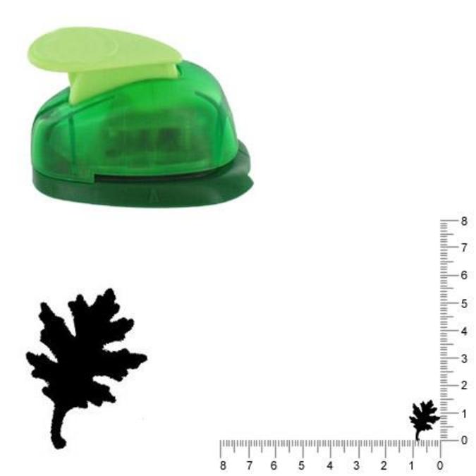 Perforatrice Feuille de chêne 1.5 cm