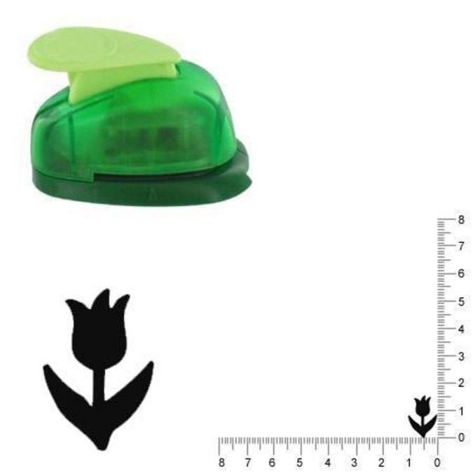 Perforatrice Tulipe 1.5 cm
