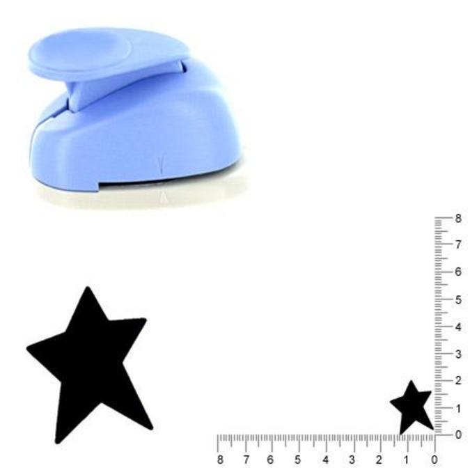 Perforatrice Étoile folk 2 cm
