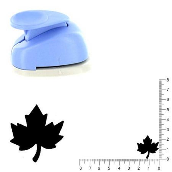 Perforatrice Feuille d'érable 2.6 cm