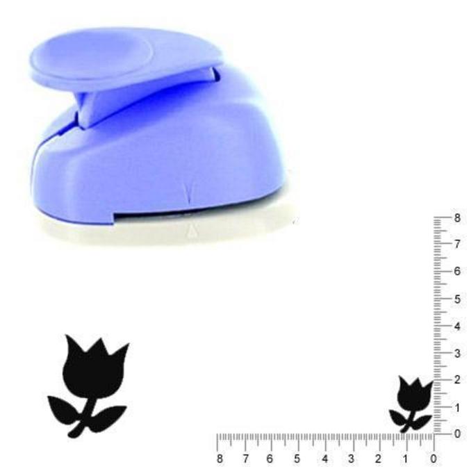 Perforatrice Tulipe 2.5 cm