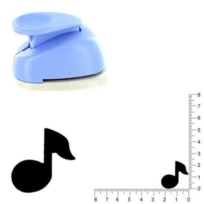 Perforatrice Note de musique 2.5 cm