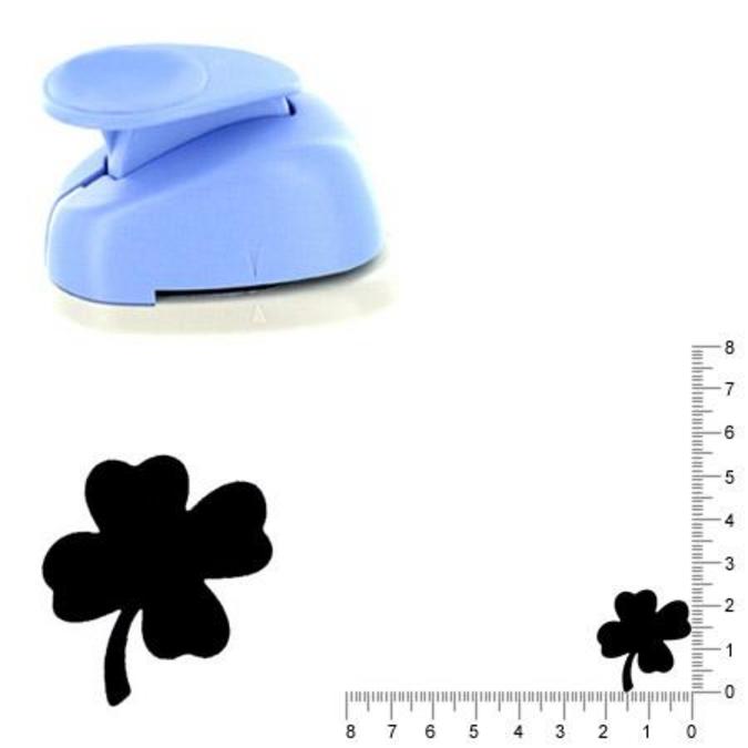 Perforatrice Trèfle à quatre feuilles 2.5 cm