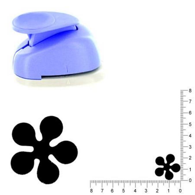 Perforatrice Fleur 2.3 cm