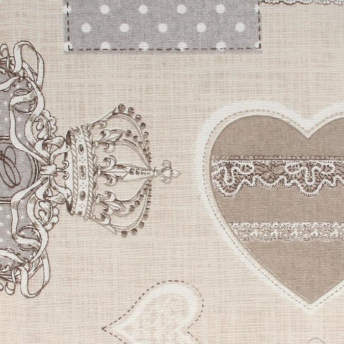 Coupon de coton Royal gris 30 x 90 cm