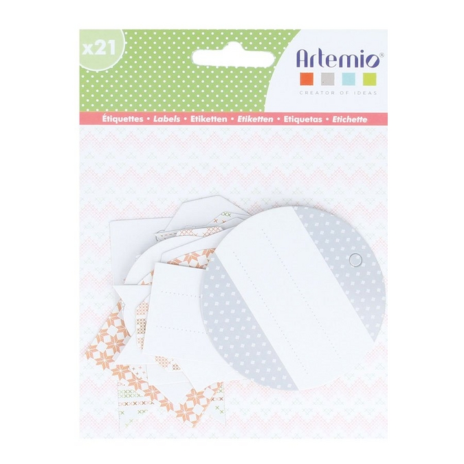 Étiquette Home Sweet Home 21 pcs
