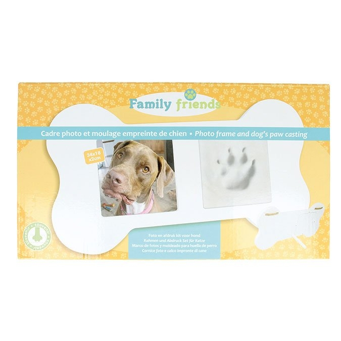 Kit de moulage Prise d'empreinte animal + Cadre os