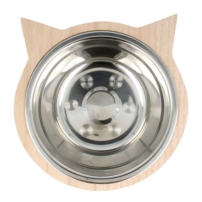 Bol Tête de chat - 16 x 16 x 4,5 cm