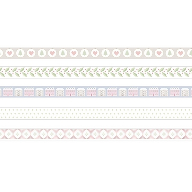 Masking Tape Home Sweet Home 5 pcs