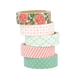 Masking Tape Secret Garden 5 pcs