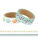 Masking tape Family Friends Chiens 2 pcs