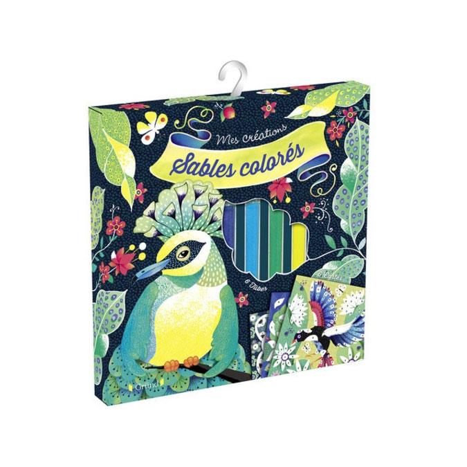 Pochette Mes créations : Sable colorés Oiseaux de paradis